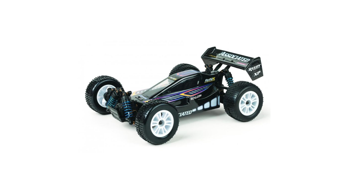Image for 1/18 Reflex 4WD Buggy Brushed RTR, Black from HorizonHobby