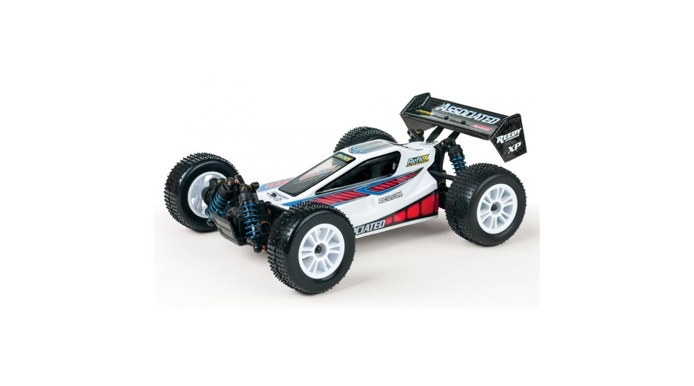 Image for 1/18 Reflex 4WD Buggy Brushed RTR, White from HorizonHobby