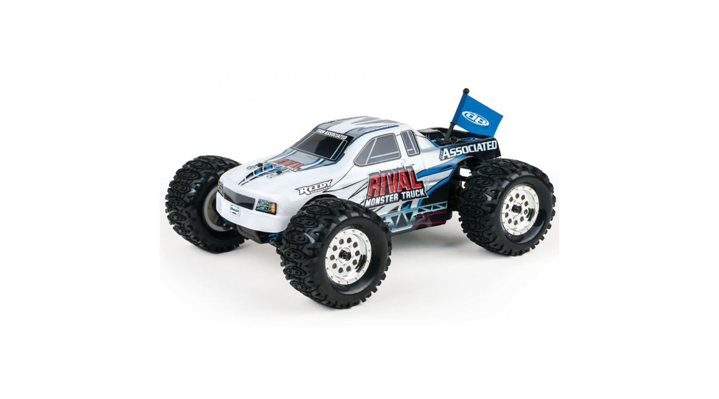 Image for 1/18 Rival 4WD Monster Truck Brushed RTR, White from HorizonHobby