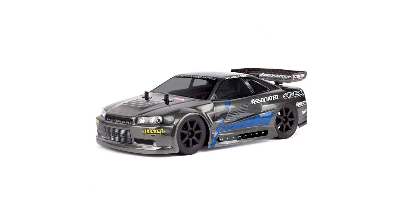 Image for 1/18 Apex 4WD Touring Car Brushed RTR, Gray from HorizonHobby
