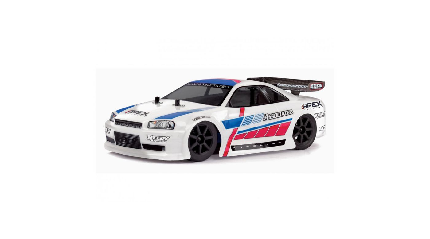 Image for 1/18 Apex 4WD Touring Car Brushed RTR, White from HorizonHobby