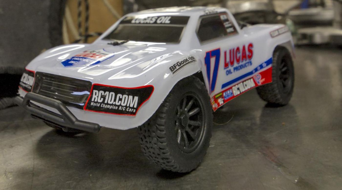 Image for 1/28 SC28 2WD SCT Brushed RTR, Lucas Oil Edition from HorizonHobby
