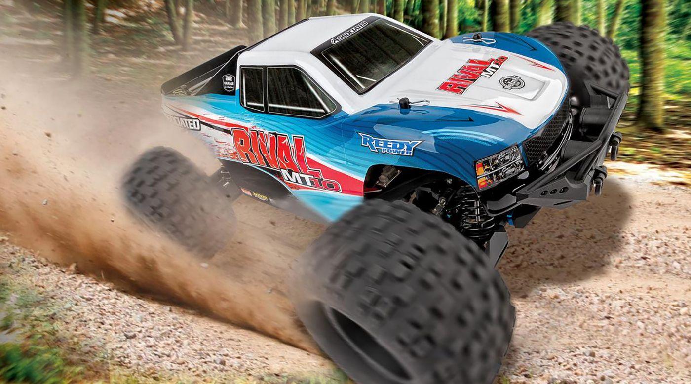 Image for 1/10 Rival MT10 4WD Monster Truck Brushless RTR Combo from HorizonHobby