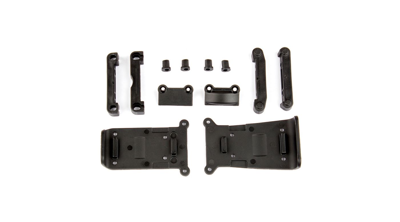 Image for Skid Plates and Arm Mounts: 14B, 14T from HorizonHobby