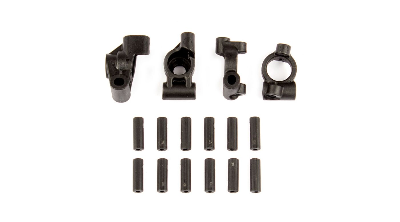 Image for Rear Hubs Caster Blocks and Inserts: 14B, 14T from HorizonHobby