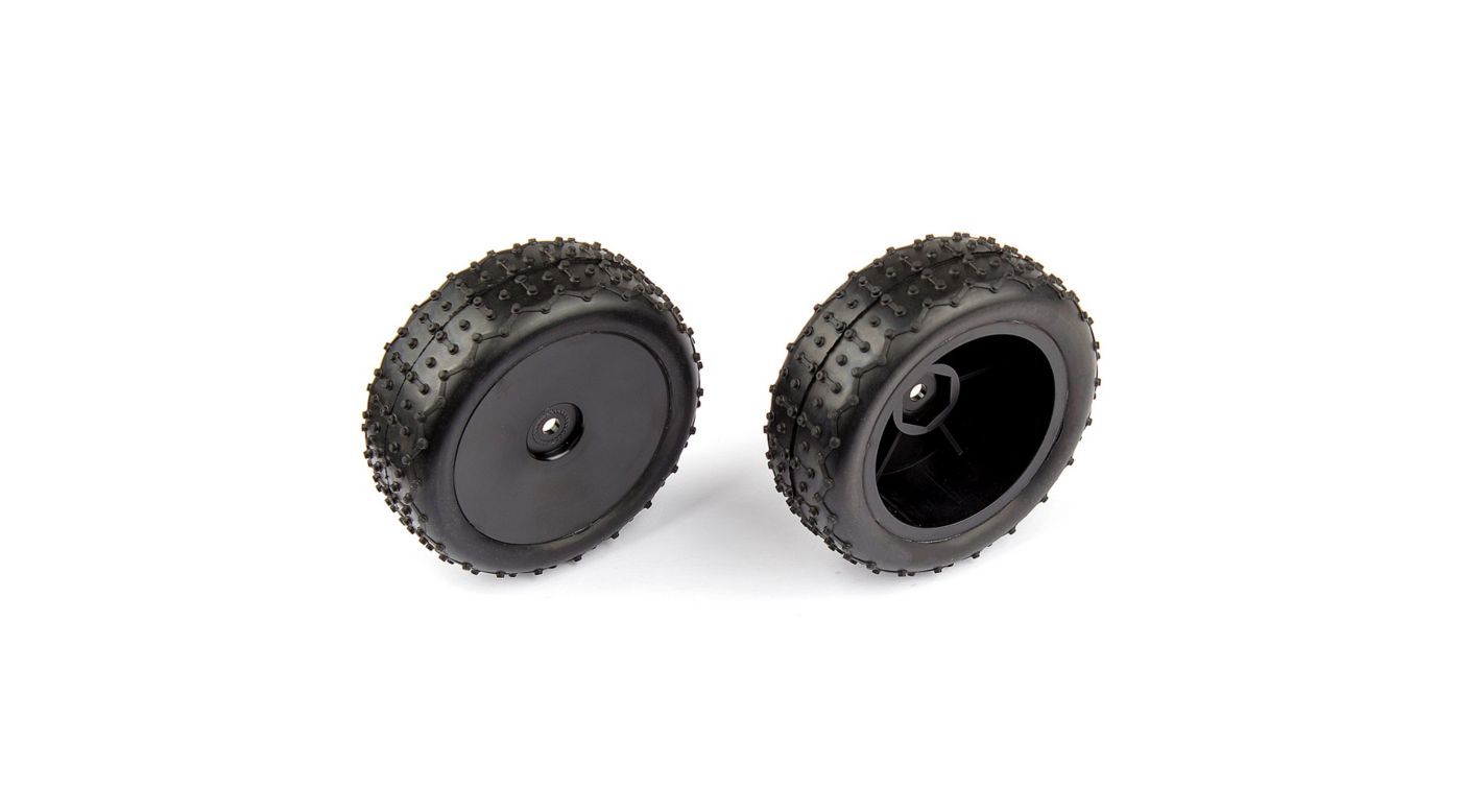 Image for Rear Wide Mini Pin Mounted Tires: 14B 14T from HorizonHobby