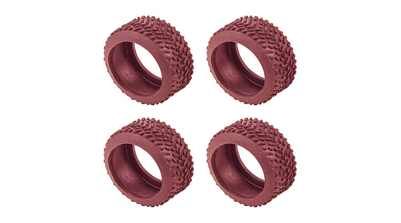 Image for NanoSport Pin Tires, Red from HorizonHobby