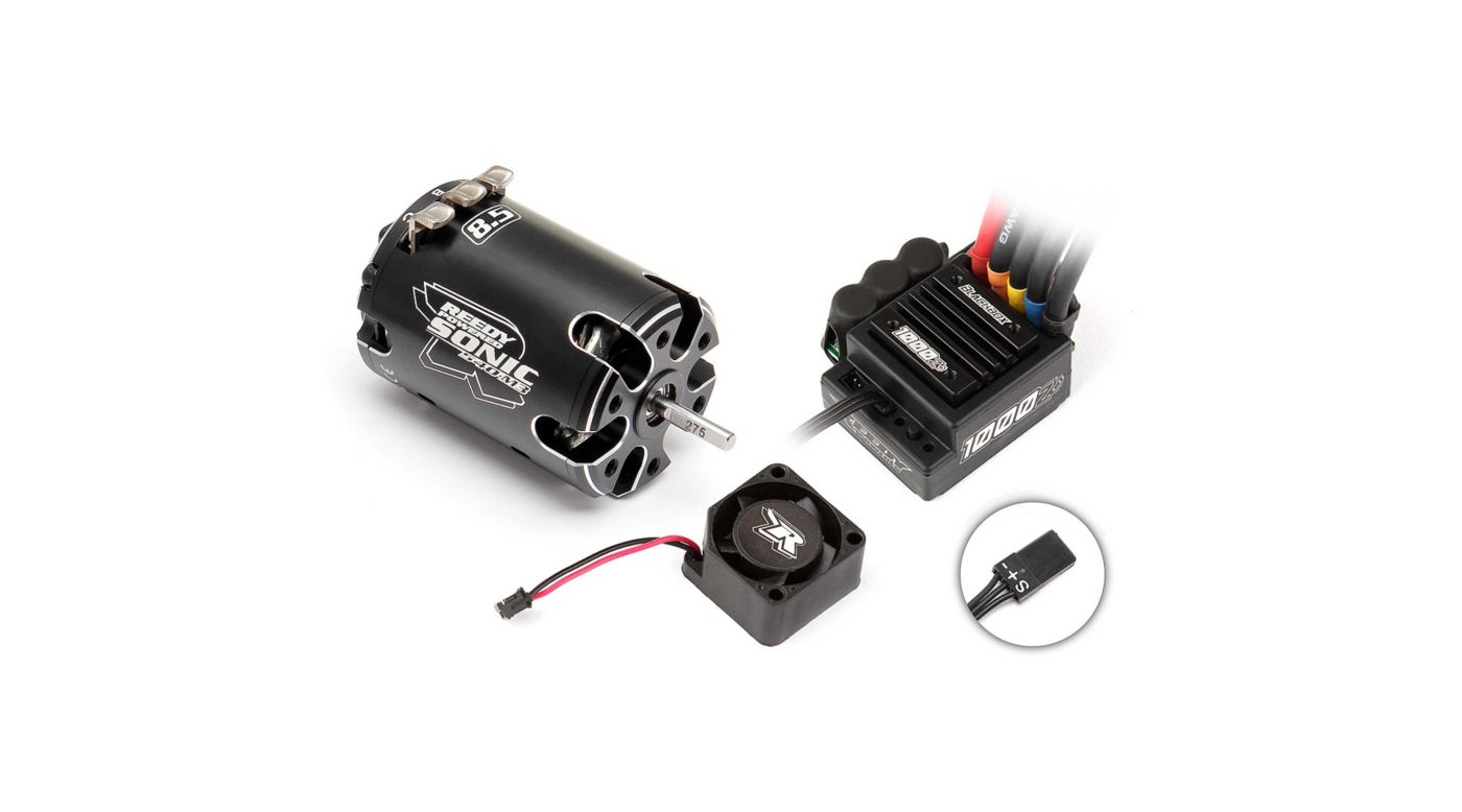 Image for Reedy Blackbox 1000Z+ ESC/Sonic 540-M3 8.5T Combo from HorizonHobby