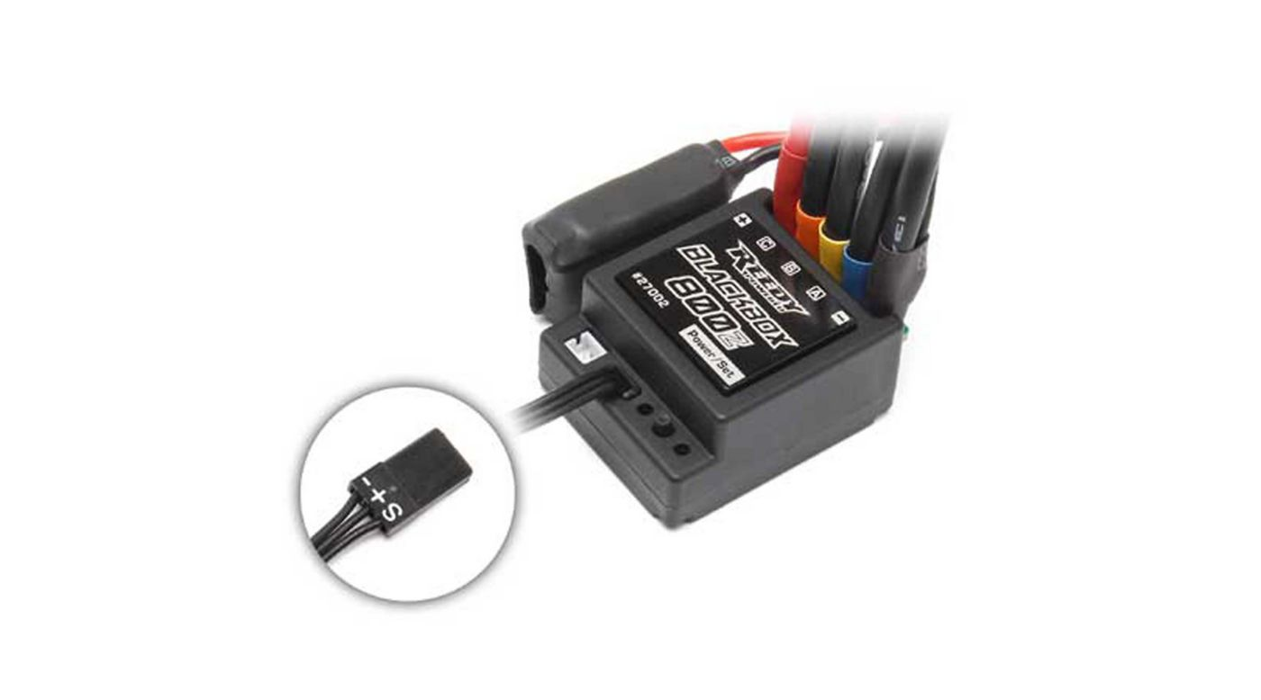 Image for Reedy Blackbox 800Z Zero-Timing Sensored Brushless ESC from HorizonHobby