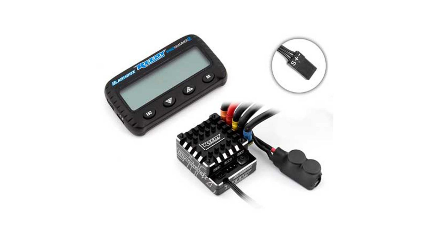 Image for Reedy  Blackbox 510R Competition ESC with PROgrammer 2 from HorizonHobby