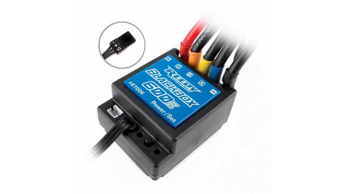 Image for Reedy Blackbox 600Z Zero-Timing ESC from HorizonHobby