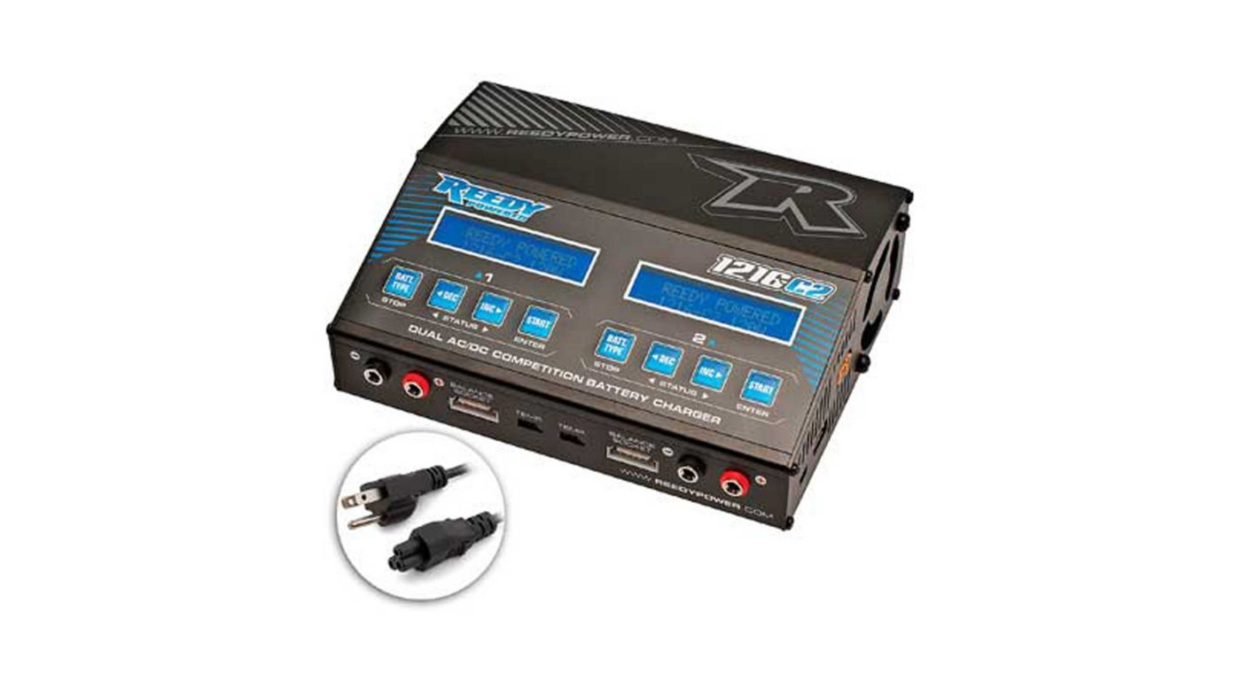 Image for Reedy 1216-C2 Dual AC/DC Competition Balance Charger from Horizon Hobby