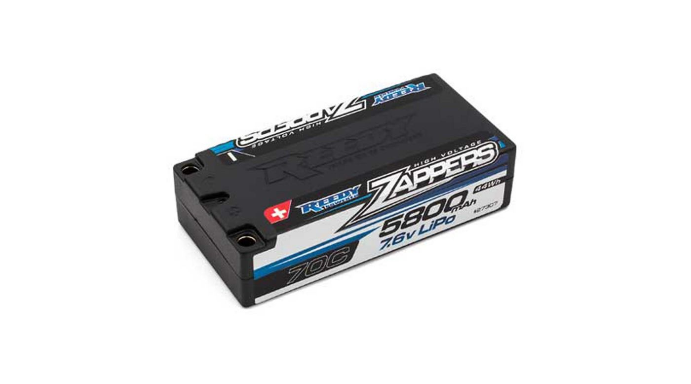 Image for Reedy Zappers LiPo 5800mAh 70C 7.6V Shorty from HorizonHobby