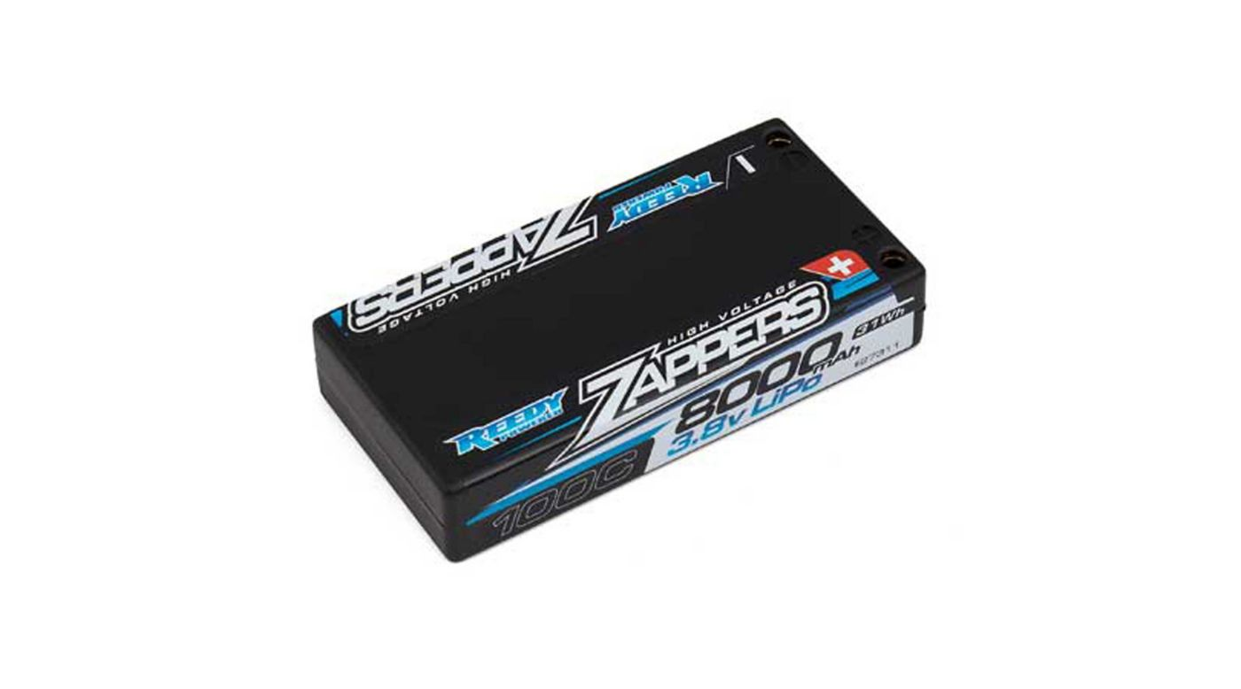 Image for Reedy Zappers LiPo 8000mAh 100C 3.8V from HorizonHobby