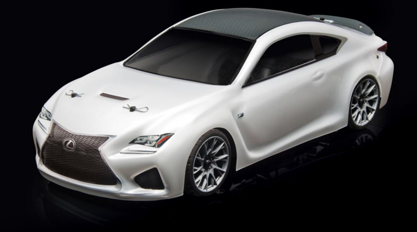 Image for 1/10 APEX Lexus RC F 4WD Touring Car Brushless RTR LiPo Combo, White from HorizonHobby