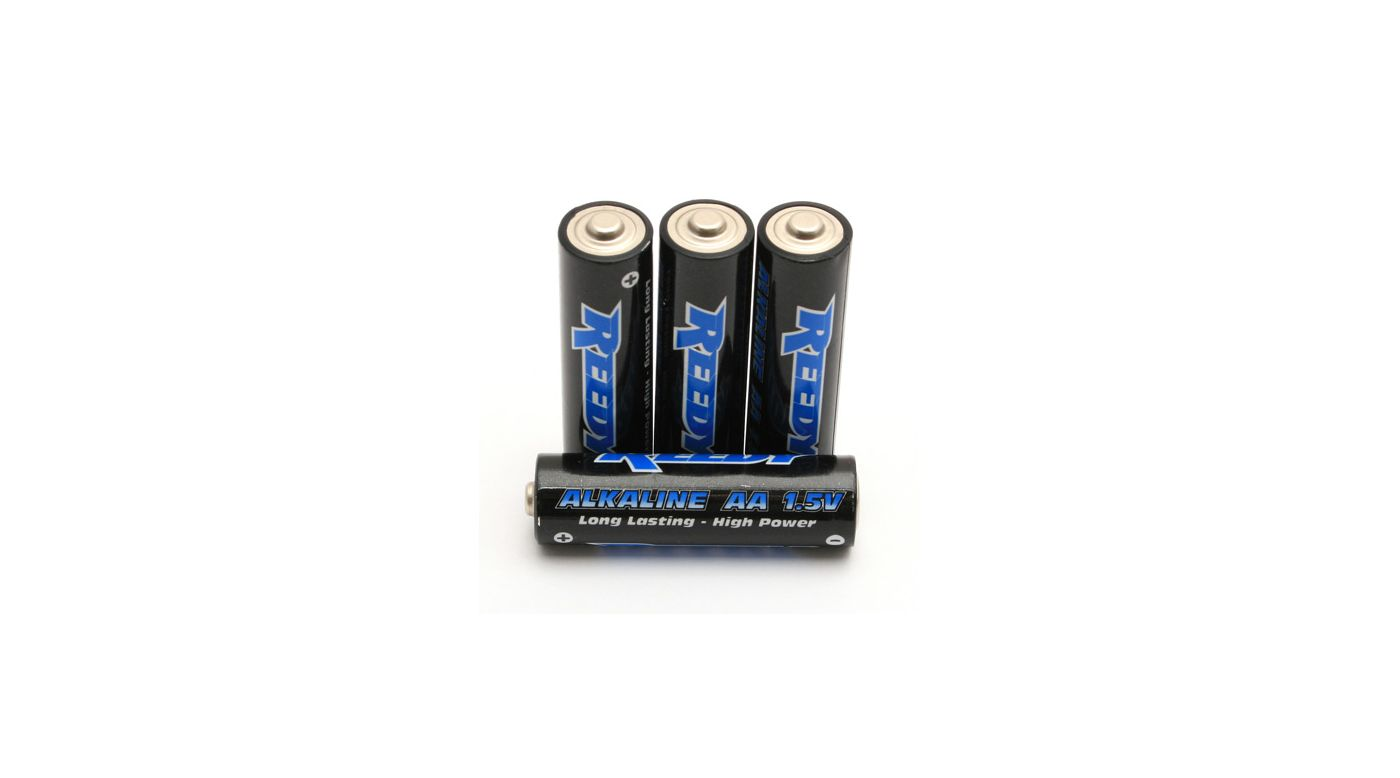 Image for Reedy AA Alkaline Battery (4) from HorizonHobby