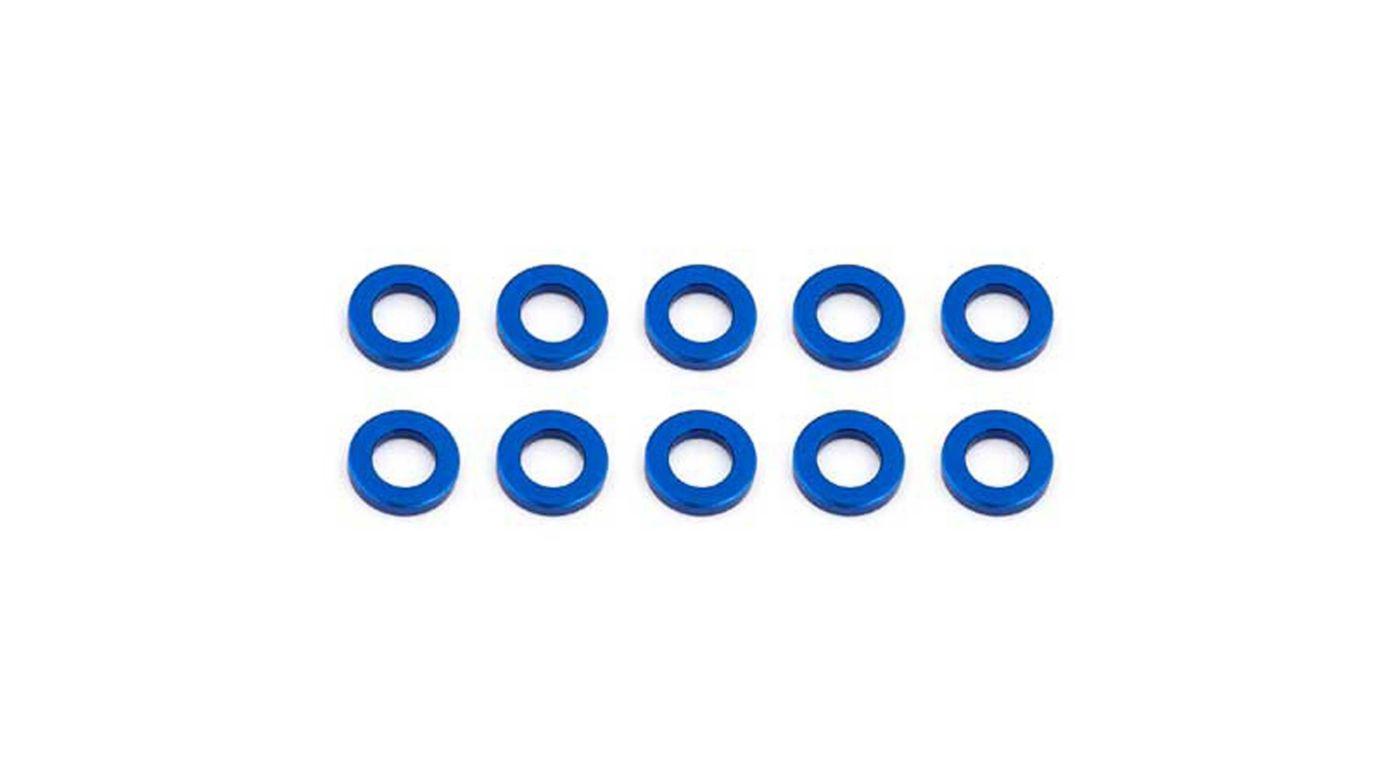 Image for Ballstud Washers, 5.5x1mm, Blue Aluminum (10) from HorizonHobby