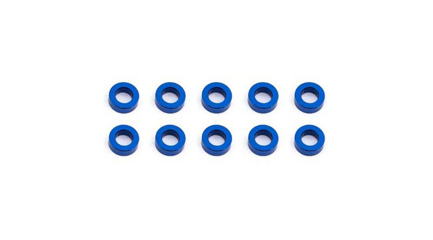 Image for Ballstud Washers, 5.5x2mm, Blue Aluminum (10) from HorizonHobby