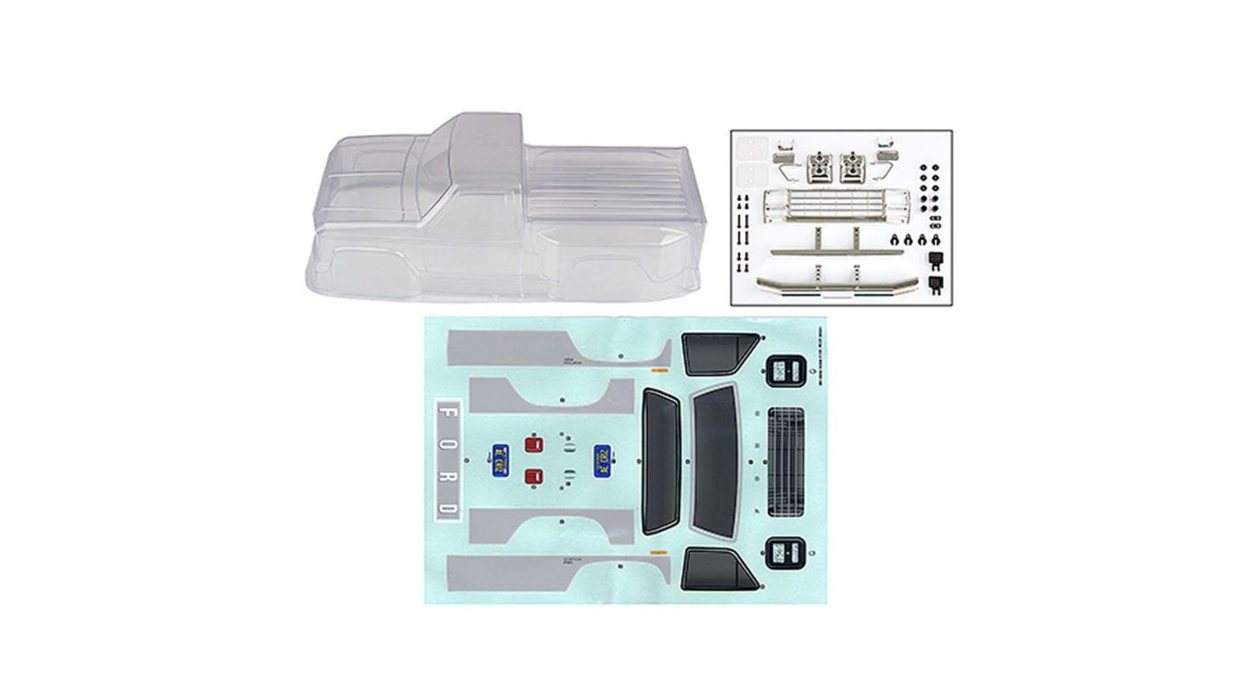 Image for Ford F-150 Body, Clear: CR12 from HorizonHobby