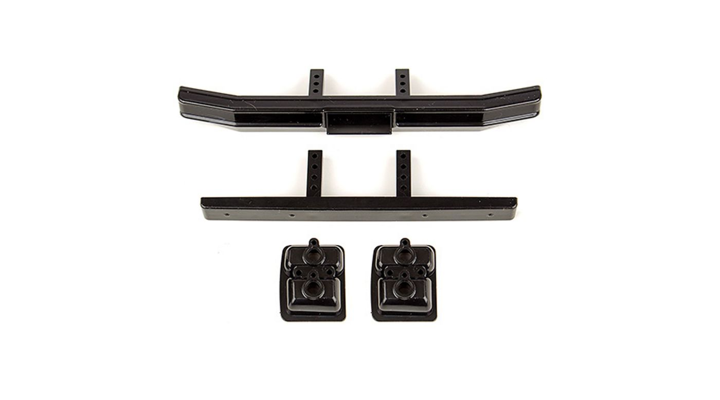 Image for Ford F-150 Bumper Set, Black: CR12 from HorizonHobby