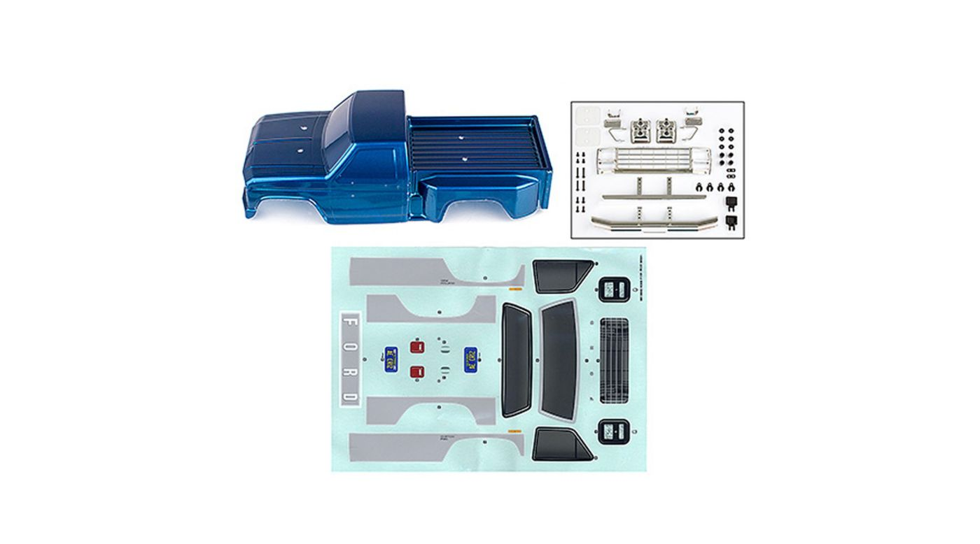 Image for Ford F-150 Body, Blue: CR12 from HorizonHobby