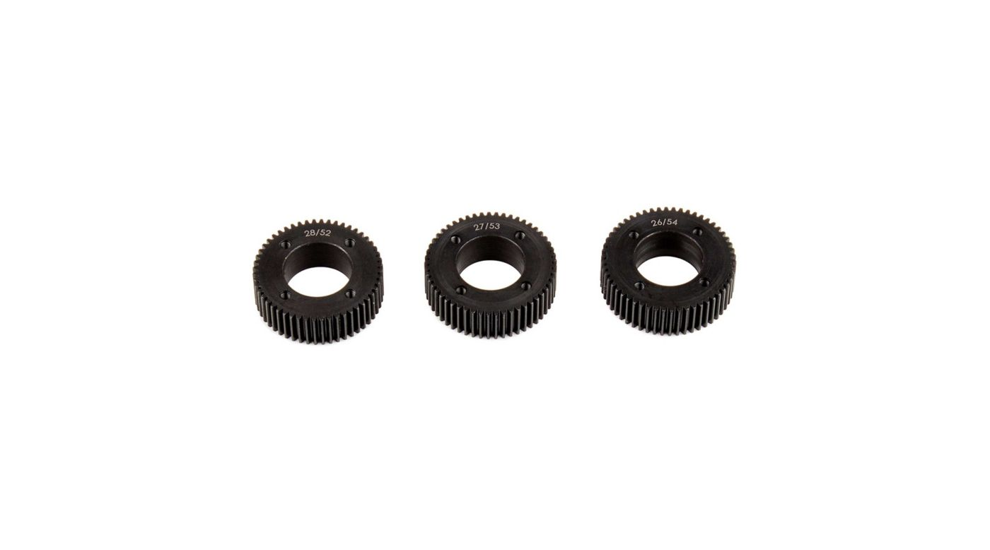 Image for Drive Gear Set, Machined: FT Stealth X from HorizonHobby