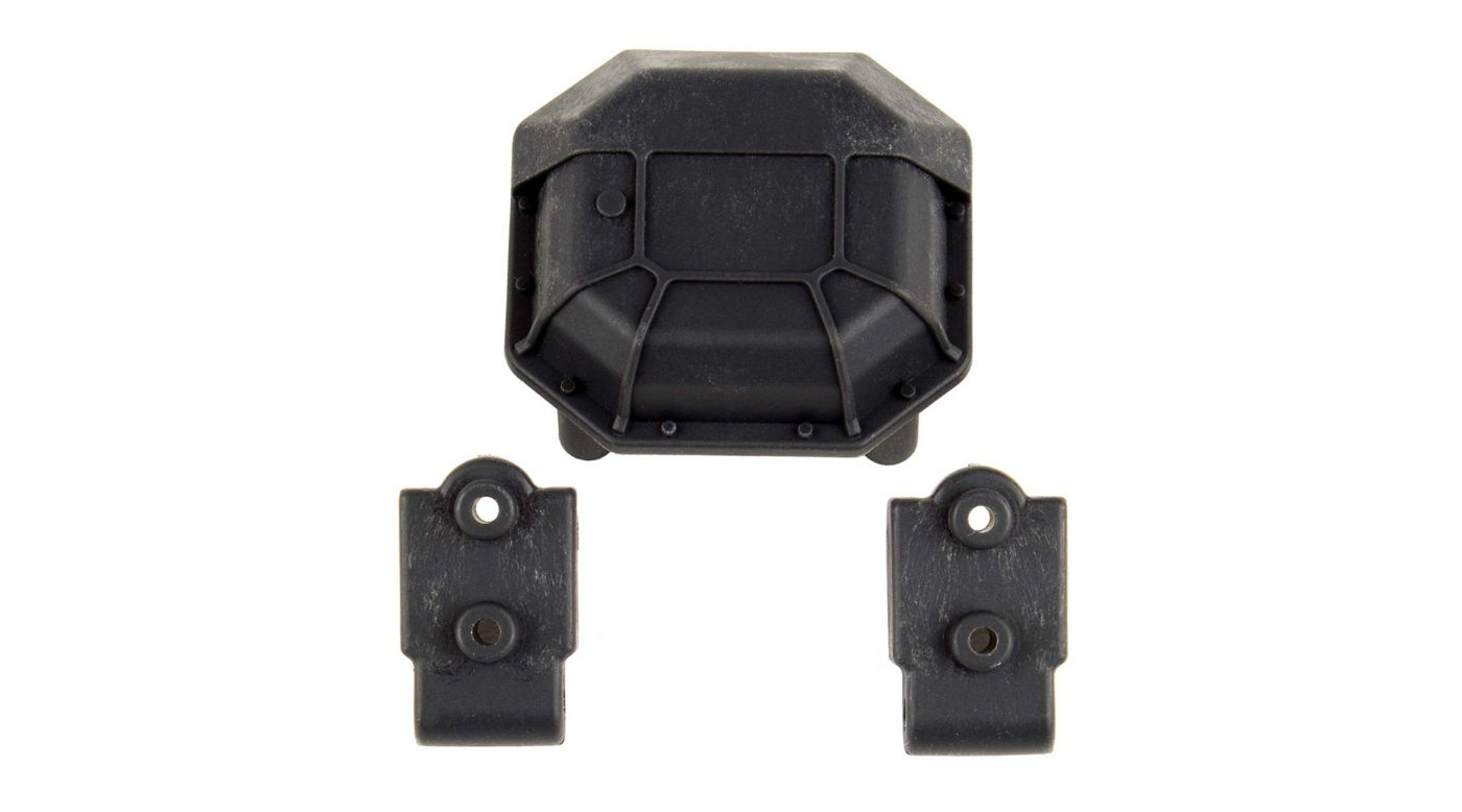 Image for Diff Cover and Lower 4-Link Mounts, Hard: Enduro from HorizonHobby