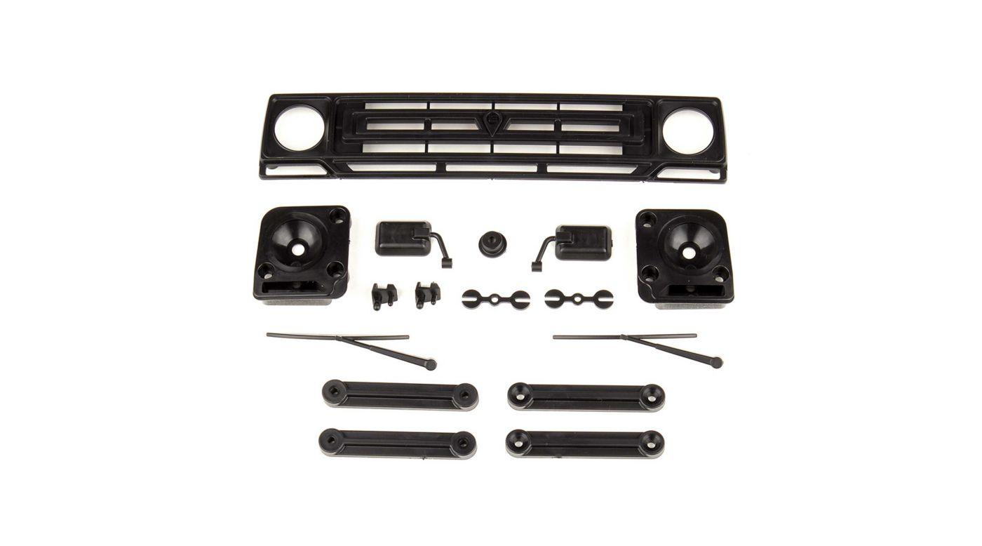 Image for Sendero Body Accessories, Black: Enduro from HorizonHobby
