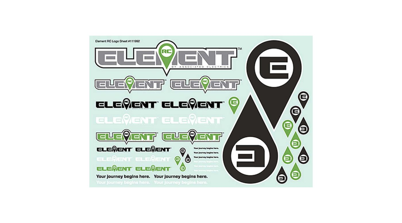 Image for Decal Sheet: Element from HorizonHobby