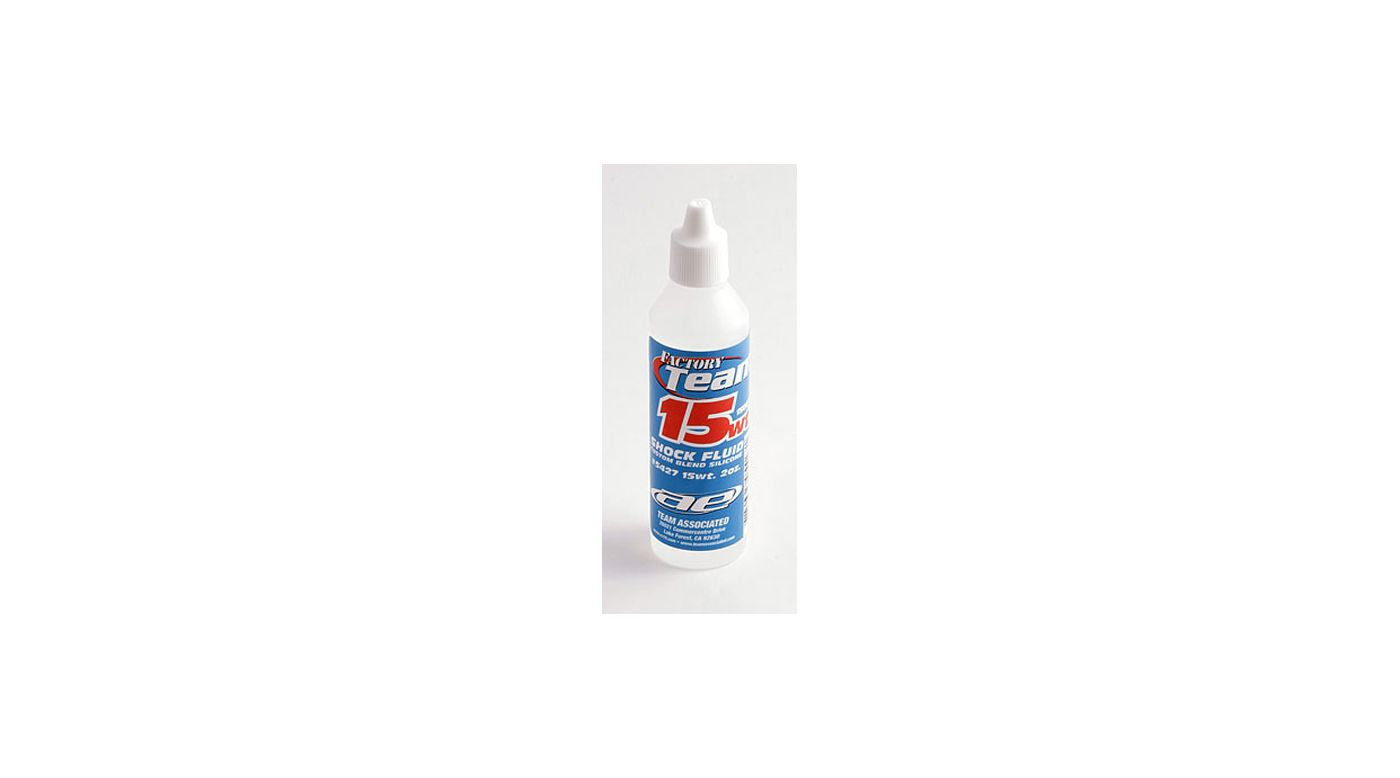 Image for Factory Team Silicone Shock Fluid, 15Wt (150 cSt) 2oz from HorizonHobby