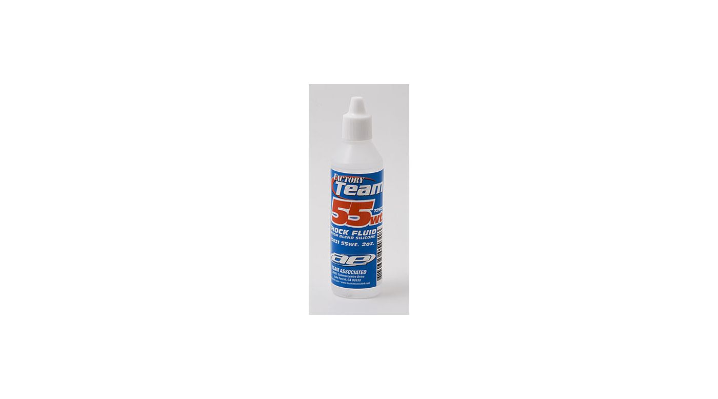 Image for Factory Team Silicone Shock Fluid, 55Wt (725 cSt) 2 oz from HorizonHobby