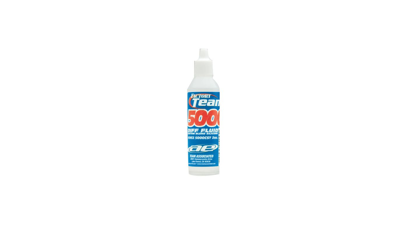 Image for Factory Team Silicone Diff Fluid, 5000 cSt 2oz from HorizonHobby