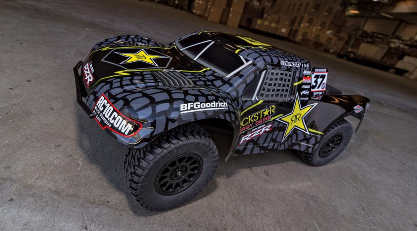 Image for 1/10 ProSC10 Rockstar 2WD SCT RTR Brushless LiPo Combo from HorizonHobby