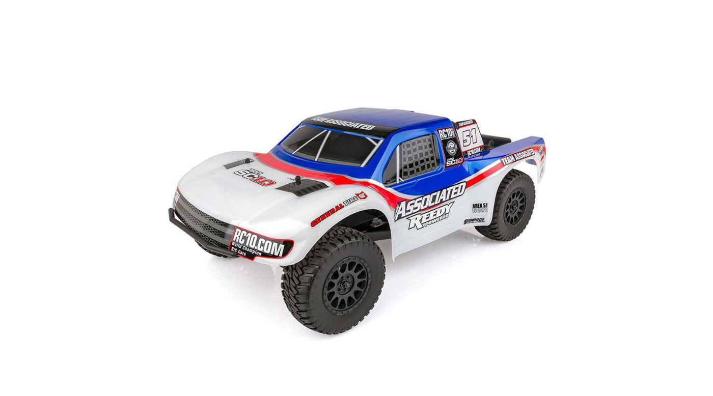 Image for 1/10 ProSC10 AE Team 2WD SCT RTR Brushless LiPo Combo from HorizonHobby