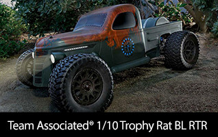 Team Associated 1/10 Trophy Rat 2WD SCT Brushless RTR