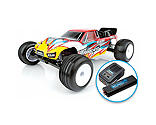 Team Associated - 1/10 RC10T4.3 2WD Stadium Truck Brushless LiPo Combo RTR, Red