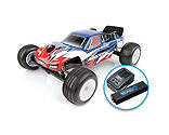 Team Associated - 1/10 RC10T4.3 2WD Stadium Truck Brushless LiPo Combo RTR, Blue