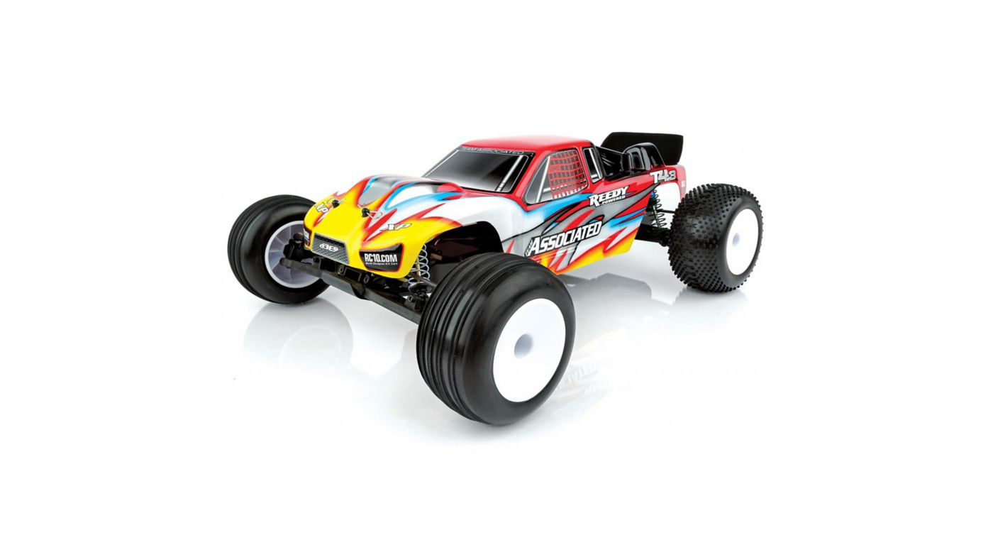 Image for 1/10 RC10T4.3 2WD Stadium Truck Brushless RTR, Red from HorizonHobby