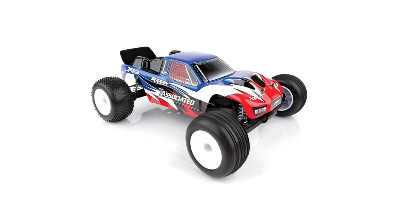 Image for 1/10 RC10T4.3 2WD Stadium Truck Brushless RTR, Blue from Horizon Hobby