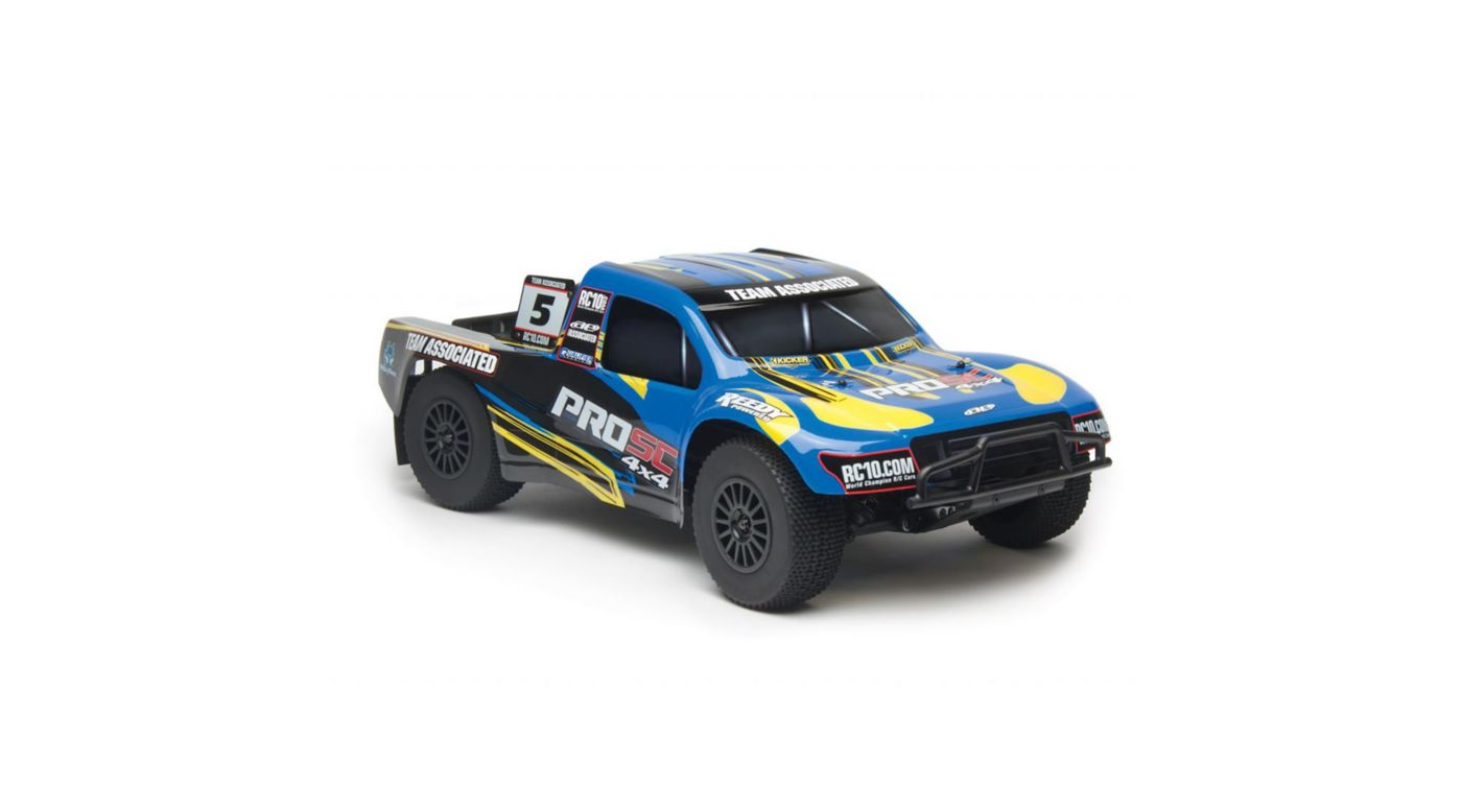 Image for 1/10 ProSC 4WD SCT Brushless RTR, Blue from HorizonHobby