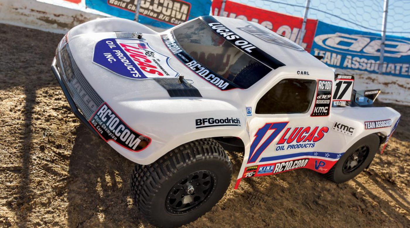 Image for 1/10 SC10.3 2WD SCT Brushless RTR LiPo Combo, Lucas Oil Edition from HorizonHobby