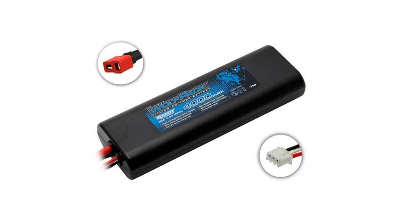 Image for 7.4V 4000mAh 2S 35C Reedy WolfPack LiPo Battery: T-plug from HorizonHobby