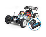 Team Associated - 1/8 RC8.2e 4WD Buggy Brushless RTR LiPo Combo, Red