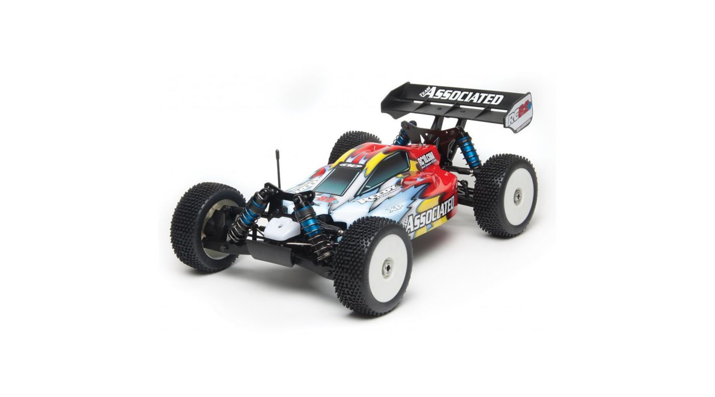 Image for 1/8 RC8.2e 4WD Buggy Brushless RTR, Red from HorizonHobby