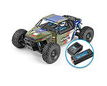 Team Associated - 1/8 Limited Edition Nomad DB8 4WD Buggy Brushless RTR LiPo Combo, Green