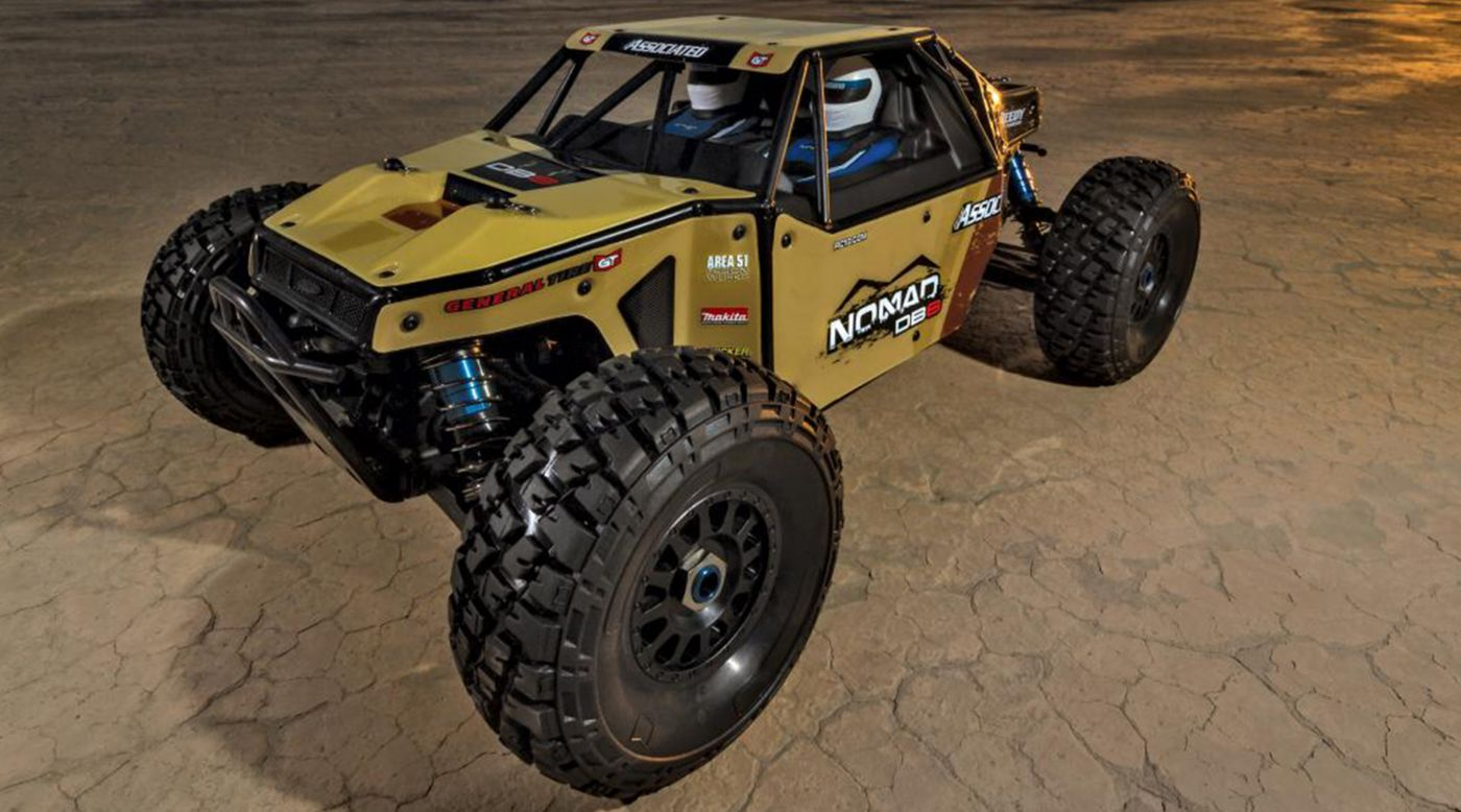 Image for 1/8 Limited Edition Nomad DB8 4WD Buggy Brushless RTR LiPo Combo, Beige from HorizonHobby