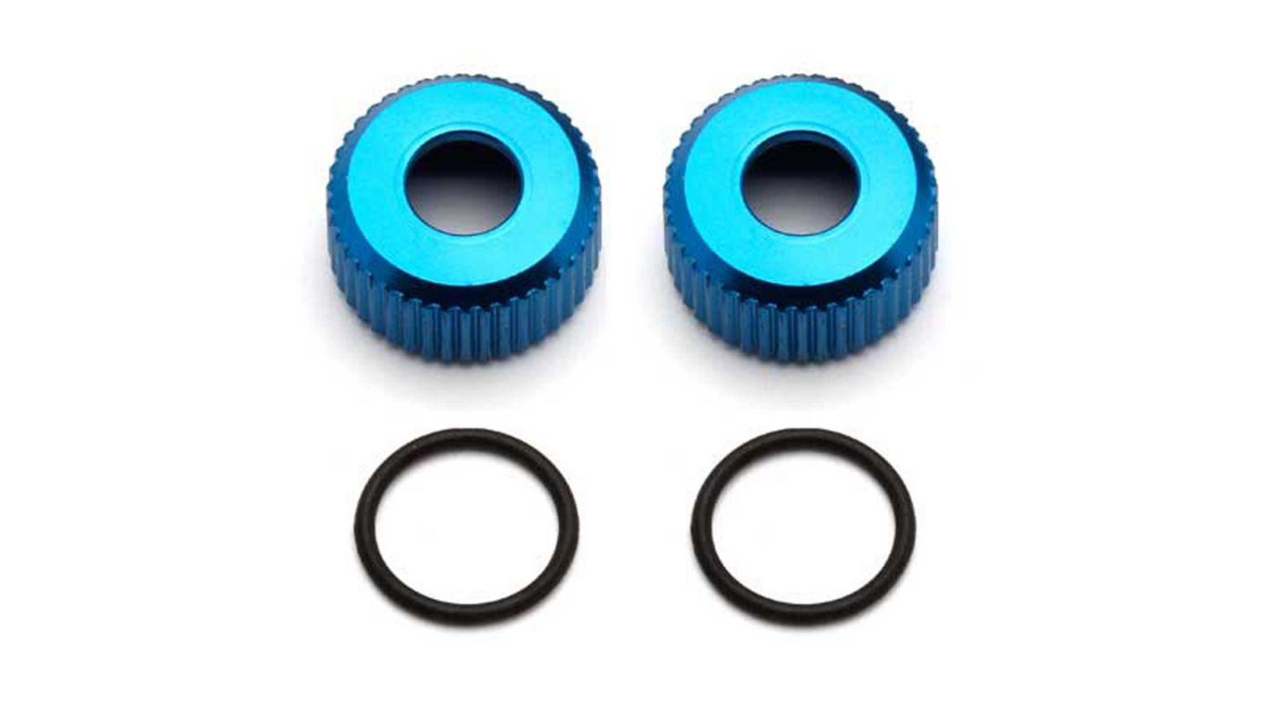 Image for Shock Body Seal Retainers: RC8B3 from HorizonHobby