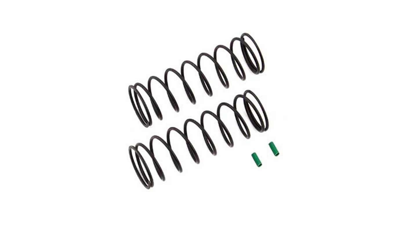 Image for Front Springs V2, Green, 4.9 lb/in, L70, 9.5T, 1.6D (2) from HorizonHobby