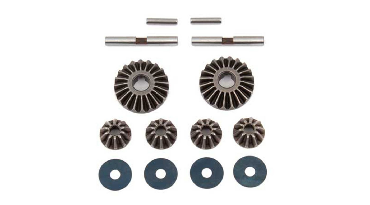 Image for Differential Gear Set, HTC: RC8B3.1 from HorizonHobby