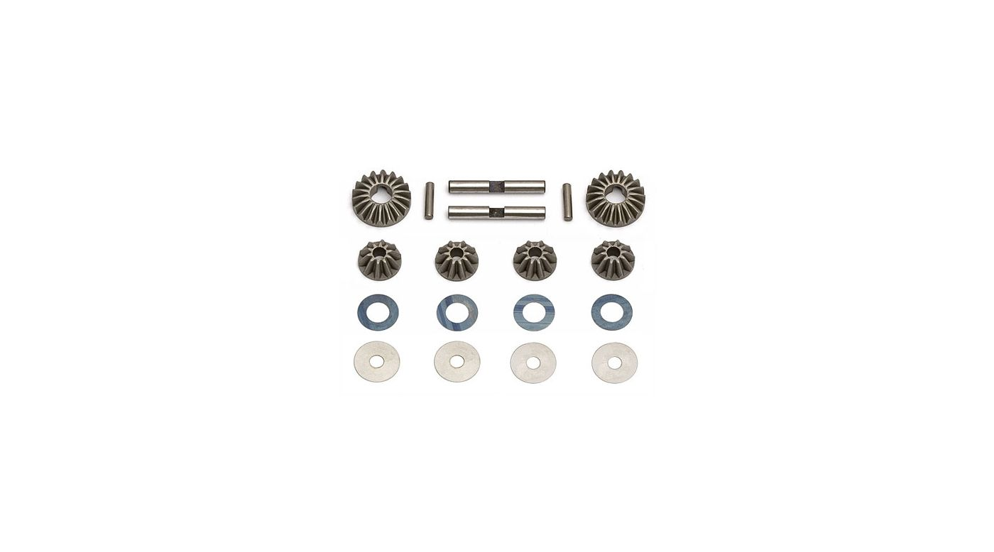 Image for Diff Gears, Washers, Pins: RC8 from HorizonHobby